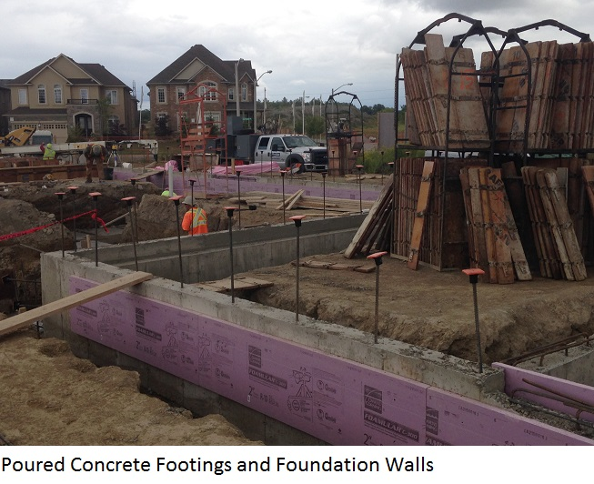 Tiffany hills elementary school kalos engineering inc for Poured foundation walls
